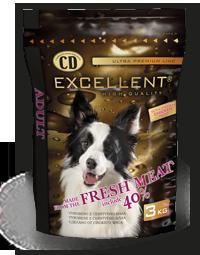 CD EXCELLENT – ADULT CHICKEN száraz kutyaeledel