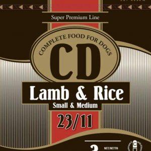 CD Lamb & Rice (Small and Medium) száraz kutyaeledel