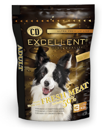 CD EXCELLENT – ADULT BEEF (MARHAHÚSSAL) Száraz kutyatáp