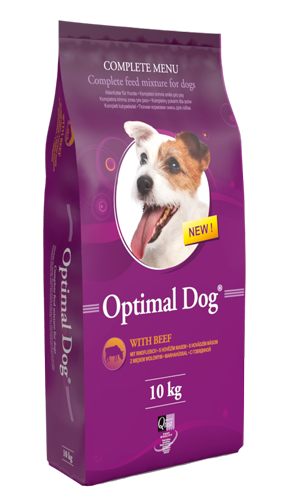 Optimal Dog – With Beef (marha)